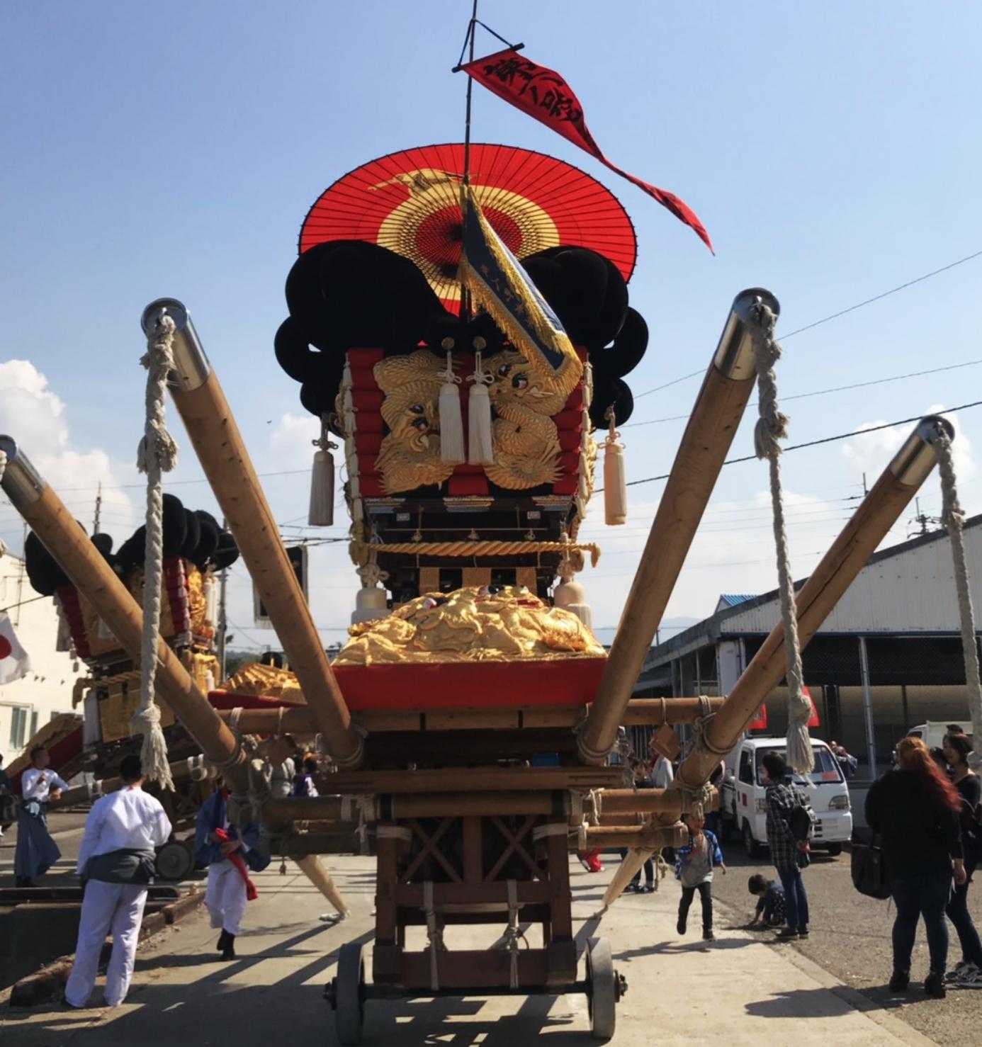 これが太鼓祭り。